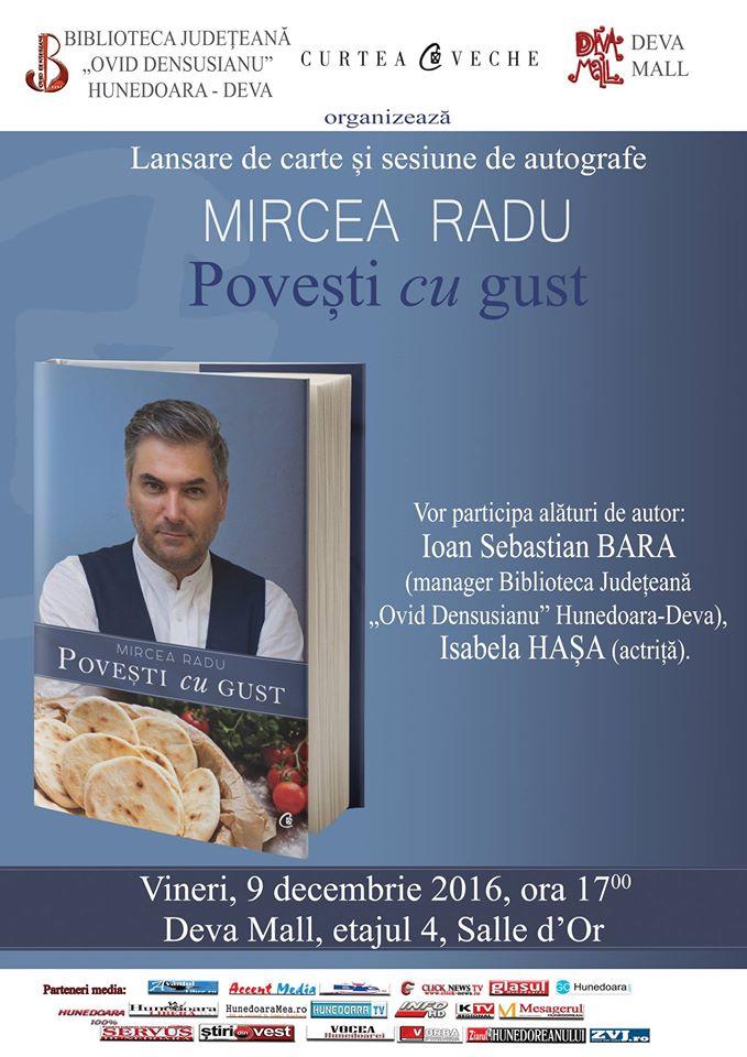 Deva: Lansare de carte – Mircea Radu