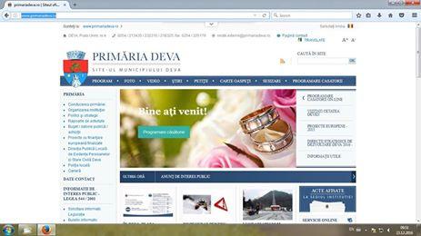Căsătorii programate online, la Deva
