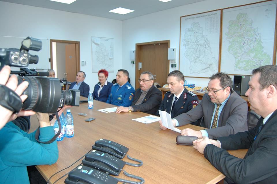3 ani de activitate neîntreruptă a Centrului Județean pentru Managementul Situațiilor de Urgență (CJMSU) Hunedoara
