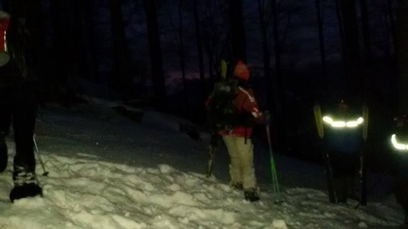 Jandarmii montani şi salvamontiştii au salvat doi schiori rătăciți în masivul Vâlcan