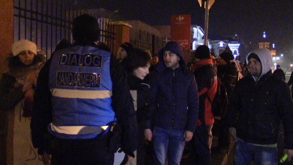 Jandarmiii hunedoreni au asigurat ordinea publică la 34 de manifestații de protest organizate în județ