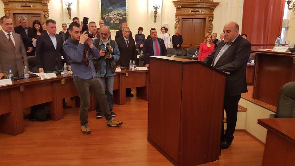 Ioan Florin Oprișa, cel mai nou consilier județean din Hunedoara