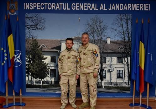 Un jandarm hunedorean a revenit în țară după încheierea misiunii NATO Resolute Support Afganistan