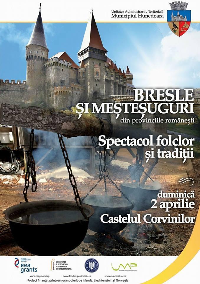 Eveniment organizat în weekend de Muzeul Casa Breslelor din Hunedoara