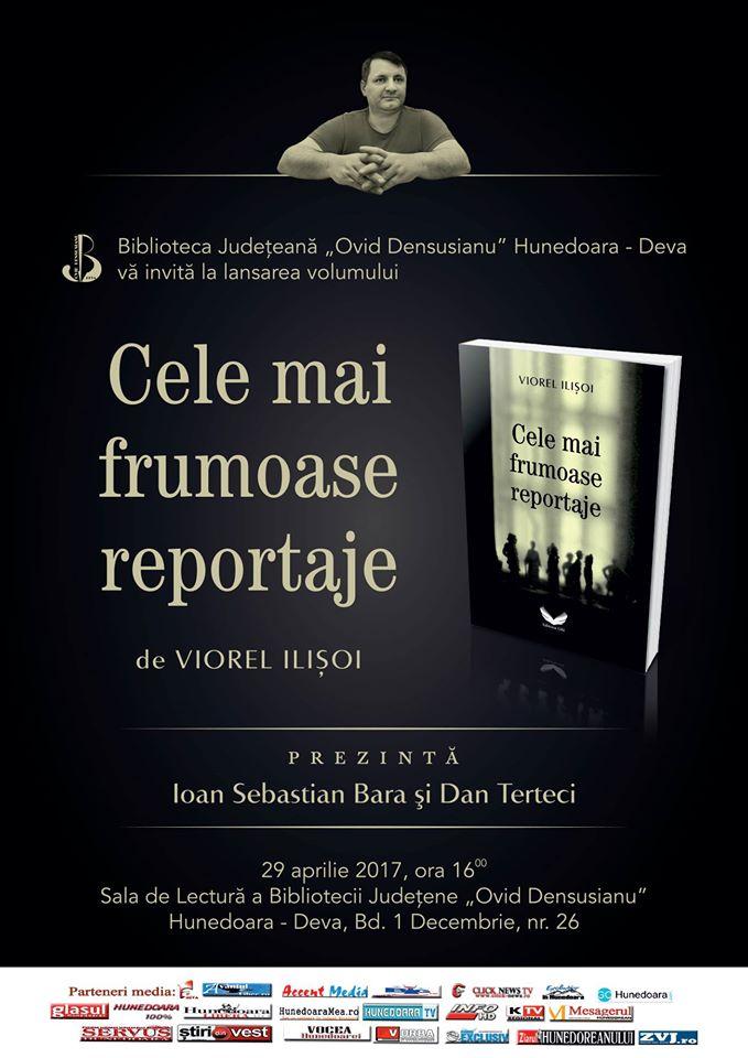 Deva: Lansare de carte – Viorel Ilișoi