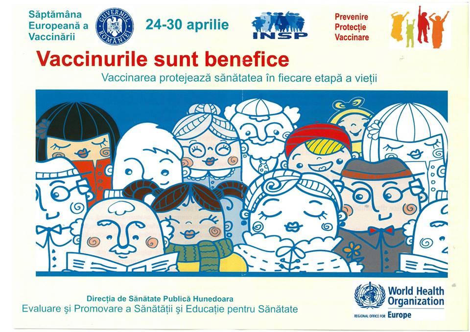 Hunedoara: Campanie de conștientizare asupra importanței vaccinării