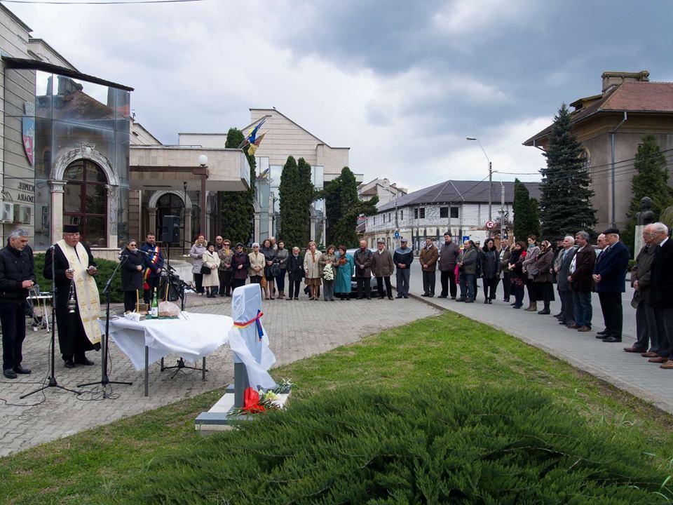 Monument ridicat în Hunedoara, în memoria foștilor deținuți politici