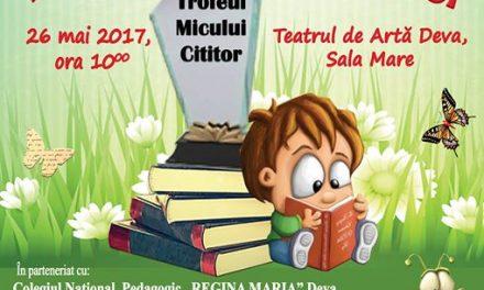 """Trofeul Micului Cititor, la Biblioteca Judeţeană """"Ovid Densusianu"""" Hunedoara-Deva"""