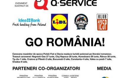 "Caravana ""Go Romania"" ajunge în Hunedoara (joi, 29 iunie)"