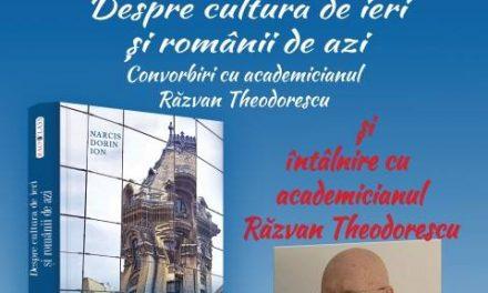 """Convorbiri cu academicianul Razvan Theodorescu, la Biblioteca Județeană """"Ovid Densusianu"""" Hunedoara – Deva"""