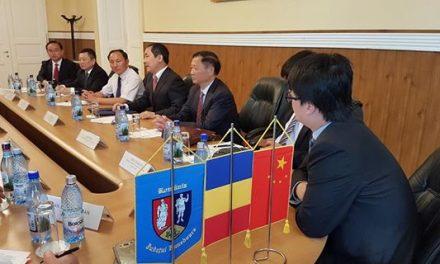 Vizita unei delegații chineze din provincia Anhui în județul Hunedoara