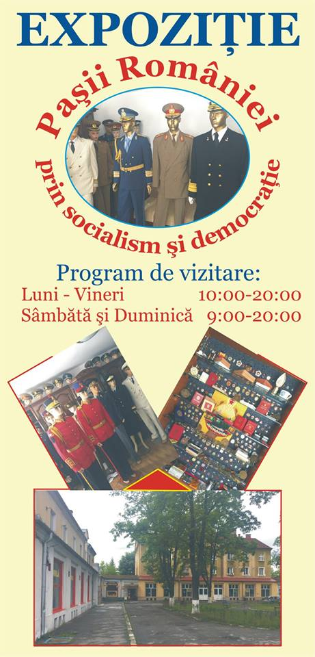 "Expoziția ""Pașii României prin socialism și democrație"", la Hunedoara"