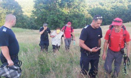 Femeie de 74 de ani rătăcită în apropierea localității Ciuplăz, salvată de jandarmi și slavamontiști