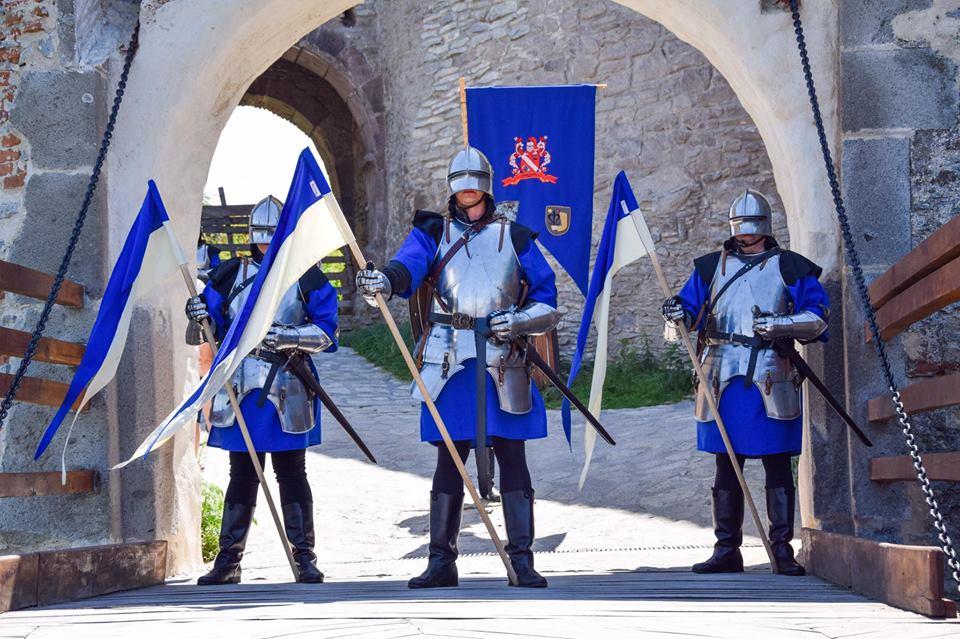Garda Cetății Deva, la Festivalul Medieval de la Ardud