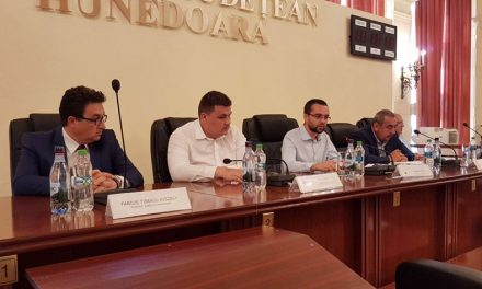 Ministrul Gabriel Petrea, vizită de lucru în județul Hunedoara