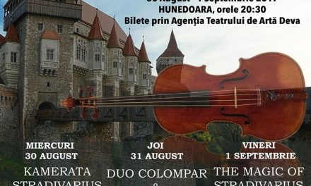 Stradivarius Music Nights by the Castle (Hunedoara, 30 august-1 septembrie)