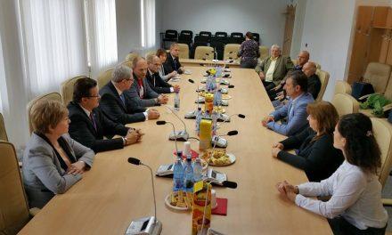 Delegație din Szombathely, în vizită la Primăria Hunedoara