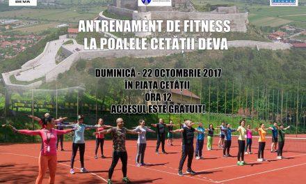 Fitness în aer liber la Deva
