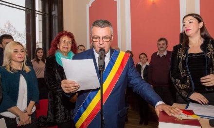 Florin Nicolae Oancea, noul primar al Devei, a fost învestit în funcție