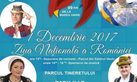 Programul Zilei Naționale a României, la Hunedoara