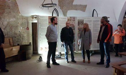 """Expoziția """"Gastronomia istorică, între știință și reenactment"""", găzduită de Muzeul Castelul Corvinilor,"""