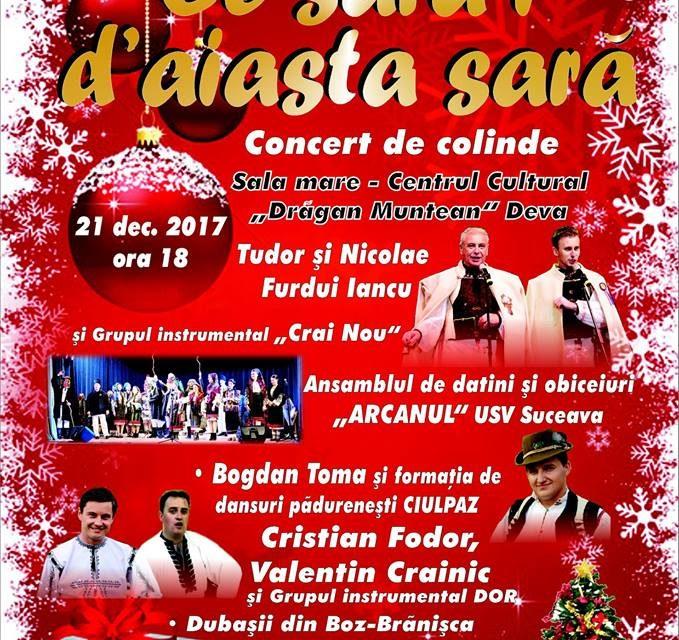 Nicolae Furdui Iancu va colinda la Deva în 21 decembrie