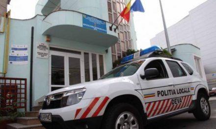 Activitatea Poliției Locale Deva, în luna octombrie
