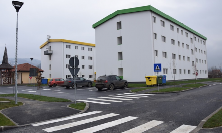 Deva: Blocurile de locuințe sociale de pe strada Grigorescu au fost finalizate
