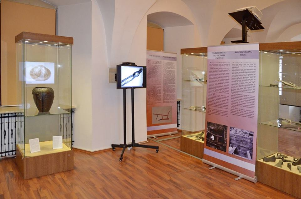 """Epoziția """"Metalurgia fierului"""", găzduită de Muzeul Civilizației Dacice și Romane Deva"""
