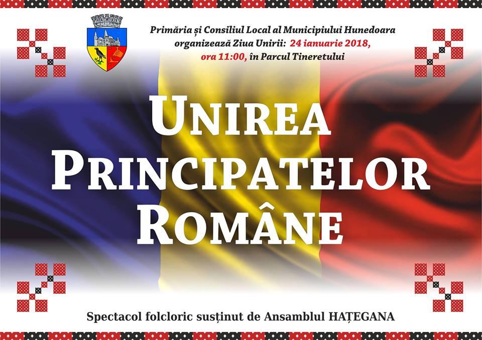 Spectacol de Ziua Unirii, organizat în Hunedoara