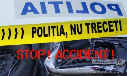 Accident produs în Deva de un șofer băut