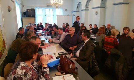 Ședinţa Comisiei de Dialog Social, la Prefectura Hunedoara