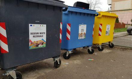 Containere noi, instalate în toate cartierele din Deva