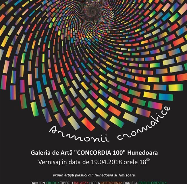"""Expoziția """"Armonii cromatice"""" va fi vernisată în Hunedoara"""