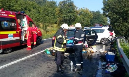 Grav accident de circulație produs în Lesnic