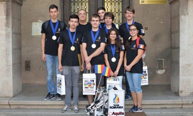 Echipa RobotX, premiată de Consiliul Local Hunedoara