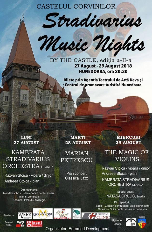 Stradivarius Music Nights by the Castle, la Castelul Corvinilor