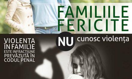 """""""Familiile fericite nu cunosc violența"""", proiect susținut de Primăria Deva"""