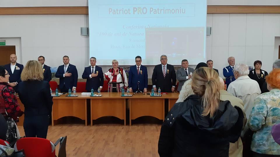 """""""100 de ani de Natură - 100 de ani de Istorie"""" - conferința națională a Agenției Naționale pentru Arii Naturale Protejate din România"""