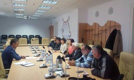 Delegație chineză la Primăria Hunedoara