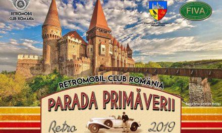 Retro Parada Primăverii 2019, în Hunedoara