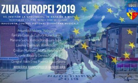 Ziua Europei sărbătorită în Hunedoara
