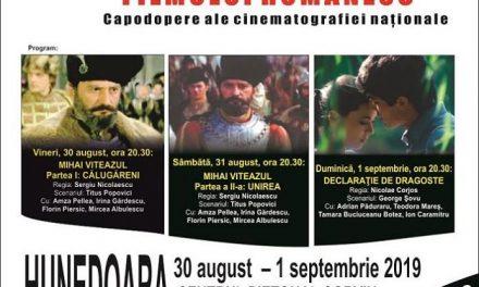 """Caravana filmului românesc"" la Hunedoara"