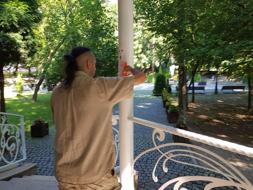 Tineri sancţionaţi de Poliţia Locală din Deva pentru vandalism