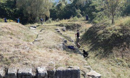 Acțiune voluntară de igienizare la Costești-Cetățuie