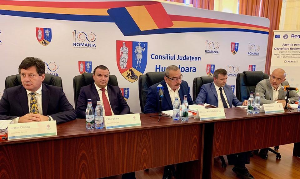 Președintele CJ Hunedoara - un an la conducerea CDR Vest