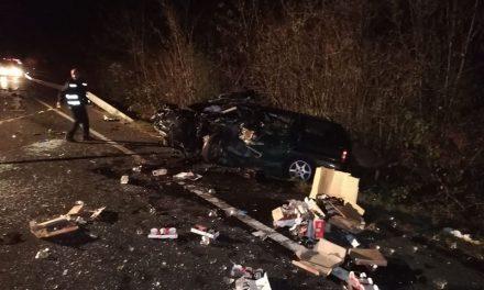 Accident grav în Bretea