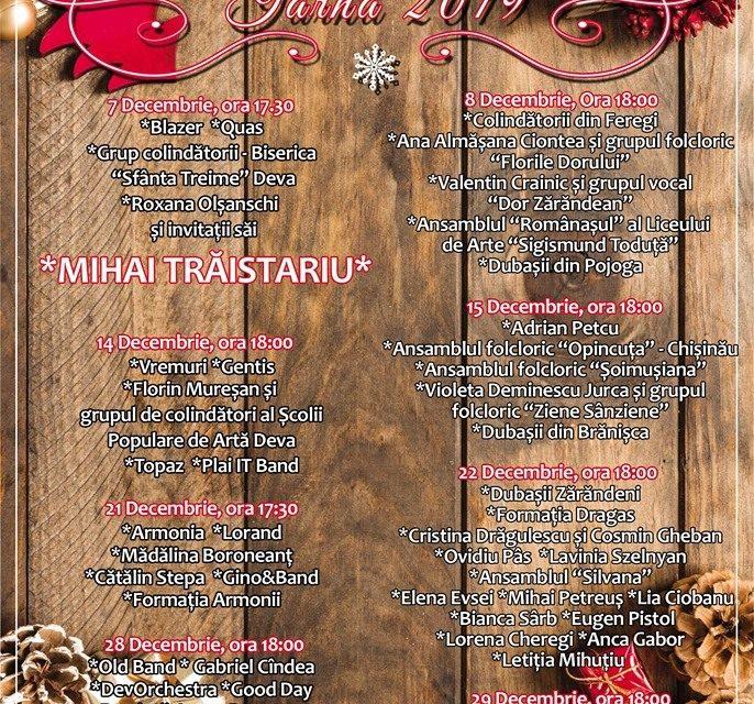 Târgul de Iarnă de la Deva se deschide în 1 decembrie