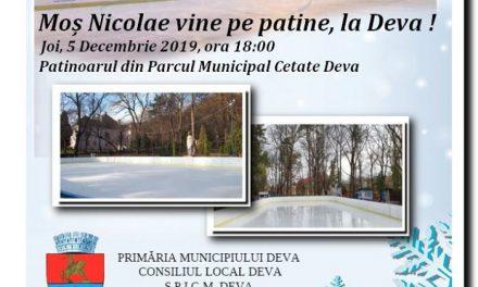 Moş Nicolae vine la Deva!