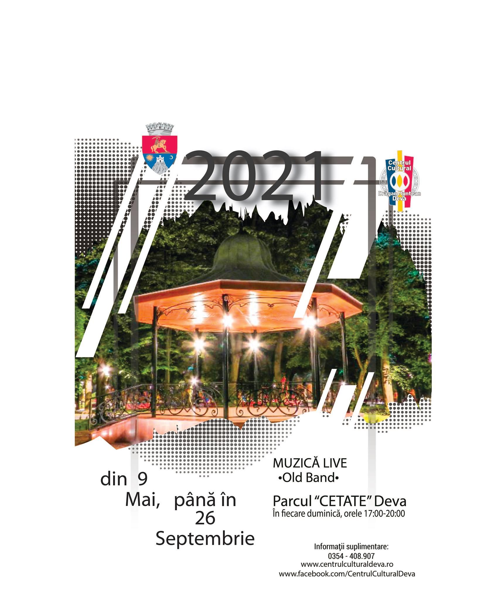 """Concerte live în Parcul Municipal ,,Cetate"""" din Deva"""